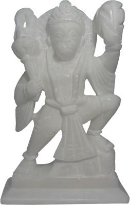 Avinash Handicrafts White Stone Hanuman 16 cm Showpiece  -  16 cm