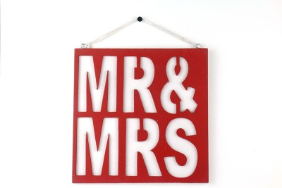 Casa Decor Mr & Mrs Sign Showpiece  -  8 cm