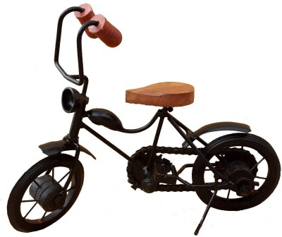Divinecrafts Metal Motarcycle Showpiece  -  20 cm