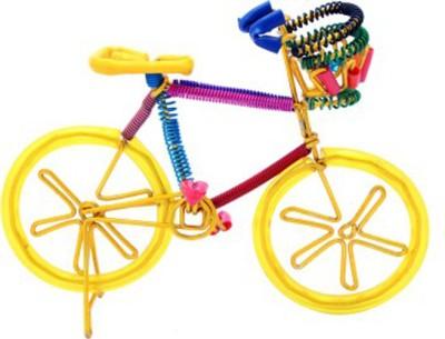 Glori-fyi Antique Handcrafted Bicycle Showpiece  -  11 cm