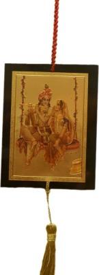 Odisha Bazaar Radha Krishna Wall Car Hanging Showpiece  -  35 cm