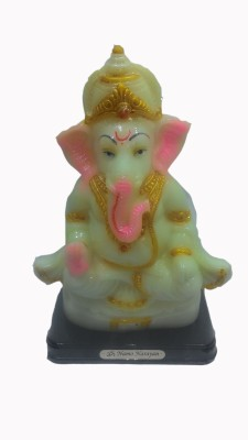 SportsHouse Lord Ganesh Radium Showpiece  -  26 cm