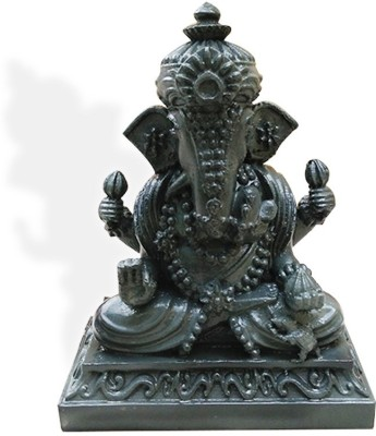 Fancy Interio Thailand Ganesha-Grey Color Showpiece  -  9 cm