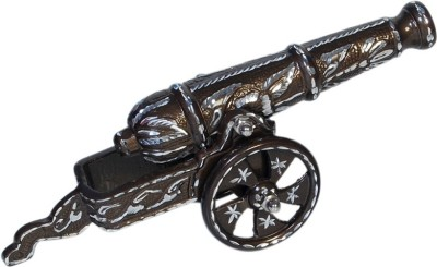 Being Nawab Aluminium Cannon Shot Showpiece  -  14 cm