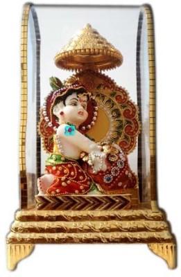 Shree Krishna Handicrafts And Gallery Ladoo Gopal Intouch Cabinet Showpiece  -  26 cm