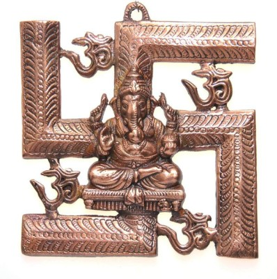 Excellent4U Swastik Om Ganesh Showpiece  -  23 cm