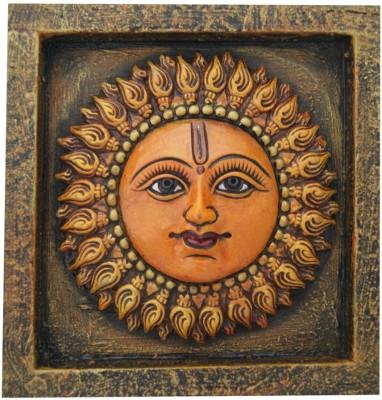 Aaradhi Divya Mantra Wall Decor Surya Showpiece  -  22.5 cm
