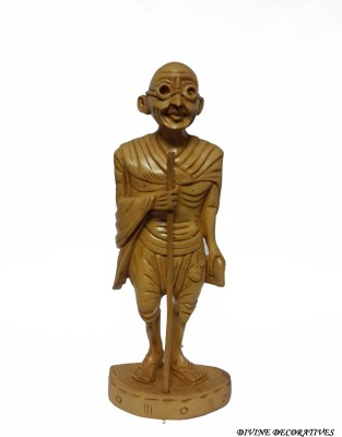 Divinecrafts Decorative Gandhi Statue Showpiece  -  15.5 cm