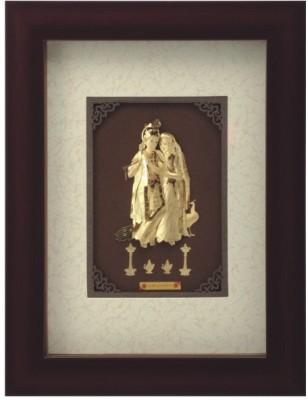 Aarya 24kt Ex Mini Radha Krishna Showpiece  -  18 cm