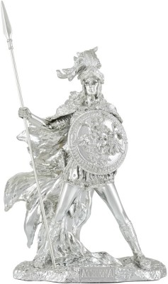 Shaze Goddess of Wisdom Showpiece  -  26 cm(Silver, Silver)