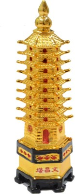Shubh Store Feng Shui Education Tower For Academic Success For Child's Study Table Showpiece  -  12 cm