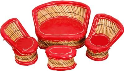Surya Red Four Showpiece  -  29 cm