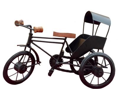 Divinecrafts Metal Chariot For Home DéCor Showpiece  -  19.5 cm