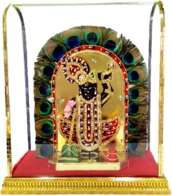 Divine Temples Colorful & Attractive Shreenath Ji Showpiece  -  27 cm(Polyresin, Multicolor)