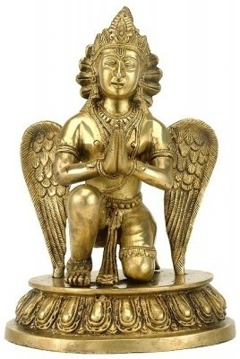 Redbag Lord Vishnu Carrier Garuda Sculpture 3412 Showpiece  -  25.4 cm