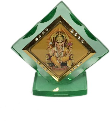 Cardressers Car Dashboard Idol Stylish Temple Showpiece  -  7 cm