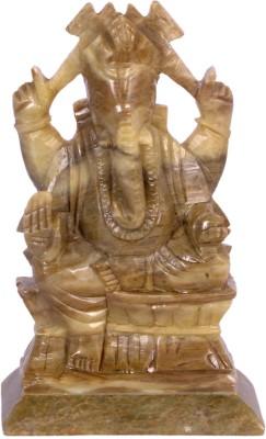 Avinash Handicrafts Soap Stone Ganesha Showpiece  -  16.5 cm