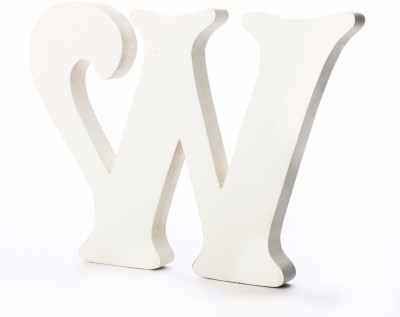 ShopperBay Alphabet W Showpiece  -  15.2 cm