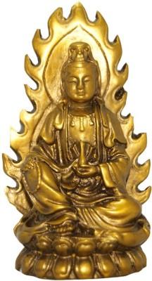 Divya Mantra Feng Shui Gautam Buddha Figurine Showpiece  -  10.5 cm