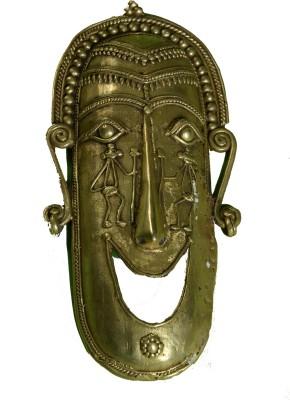 Lavanaya Goodluck Mask Showpiece  -  30 cm