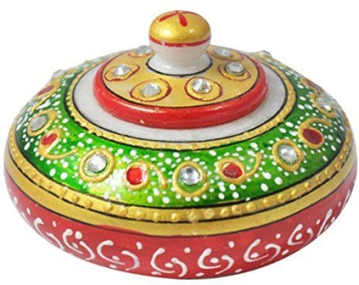 Gaura Art & Crafts Showpiece  -  8 cm(Alloy, Multicolor)