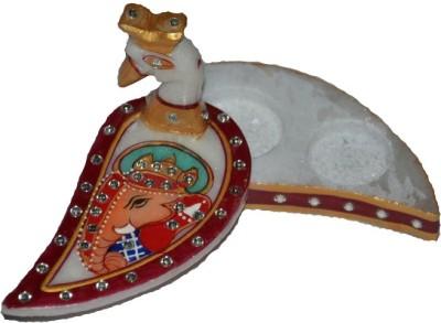 Anjalika Designer Marble Chawal Roli Chopra Showpiece  -  3 cm