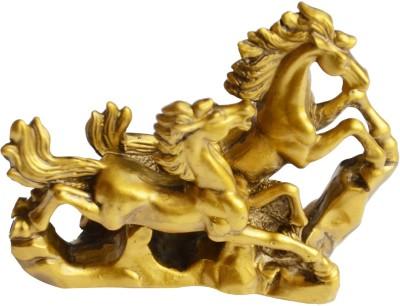 Anjalika Feng Shui Running Horses For Victory Showpiece - 11 cm