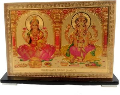 Vira Laxmi Ganesh Showpiece  -  9 cm