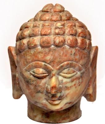 Artist Haat Hand Carved Soapstone Showpiece  -  10 cm
