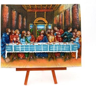 Fashion Envoy Amazing Last Supper Photo Frame Showpiece  -  18 cm