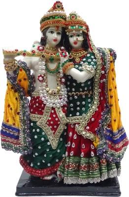 Paras Dress Radha Krishna Idol Showpiece  -  32 cm