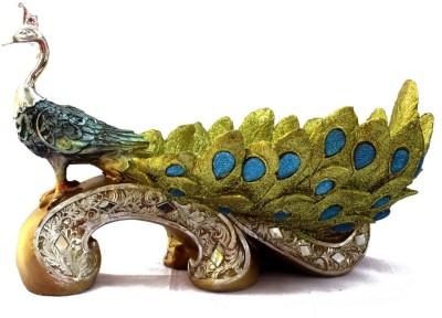 Mayursflora Beautiful Peacock Showpiece  -  18 cm