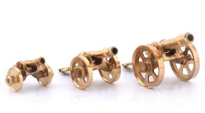 Jaipur Raga Canon Set 151 Showpiece  -  3.175 cm(Brass, Multicolor)