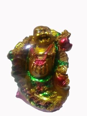 SportsHouse Laughing Buddha Showpiece  -  17 cm