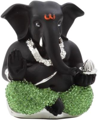 Aarya 24kt Lord Ganesha Showpiece  -  4 cm