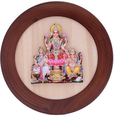 Aarzool Lakshmi Ganesh Showpiece  -  20 cm