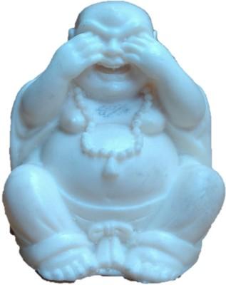 JaipurCrafts Beautiful Laughing Buddha Showpiece - 5.08 cm