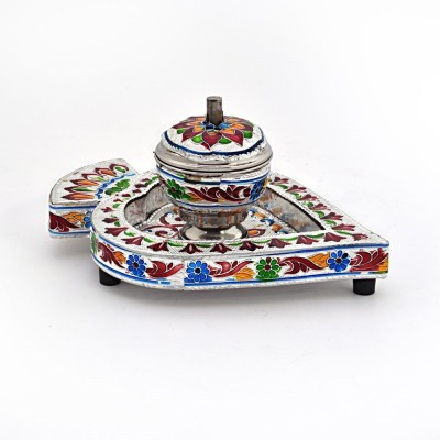 Kiran Udyog Sindoor Box n Tray 328 Showpiece  -  5.08 cm