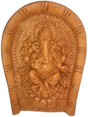 Laviva Provocative Handmade Ganesha Idol Wall Hanging Showpiece  -  20 cm