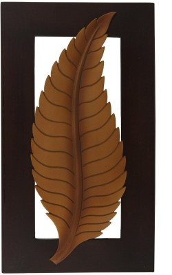 Decorhand A Handmade Wall Art In Tree Leaf Shape Showpiece  -  35.5 cm