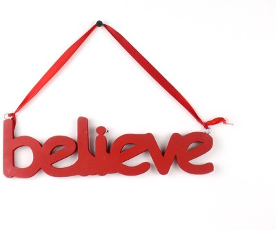 Casa Decor Believe Sign Showpiece  -  8 cm