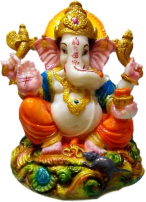 Divine Temples Showpiece  -  15 cm(Polyresin, Multicolor)