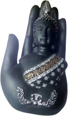Heeran Art Vastu Fangshui Religious Idol of Hand Buddha Premium Showpiece - 17 cm