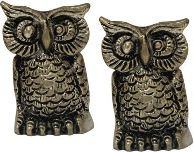 Divya Mantra Owl Set Showpiece  -  5.5 cm