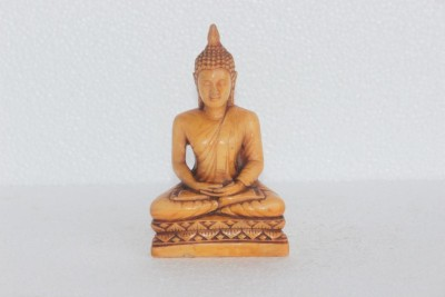 Prachin Art Gallary Budhaa Showpiece  -  13 cm