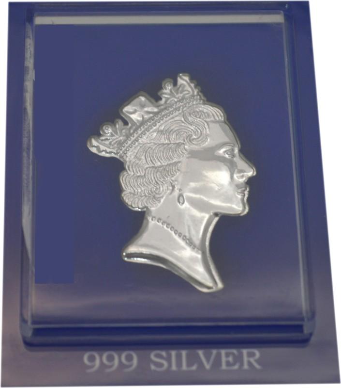 Sogani Showpiece  -  8.5 cm(Silver, Silver)
