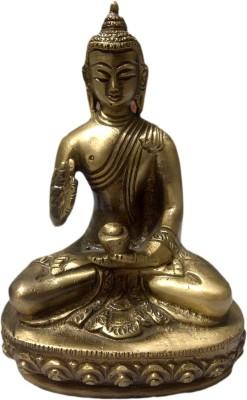 SI Diesel Si diesel brass idol Gift-Buddha Showpiece  -  13 cm