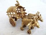 KKI Village Bullock Carts p-607 Showpiec...
