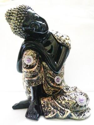 True Deal Beautiful Lord Buddha Resting Statue Showpiece  -  25 cm
