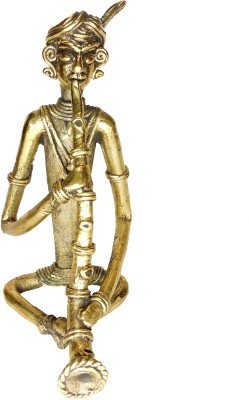 Rays Creative Art Musician Turhi (Brass) Showpiece  -  17 cm